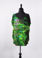 Wild nettles top design for Vida