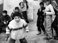 Children playing with toy guns celebrating Eid Al Fitr in Arwad, Syria.