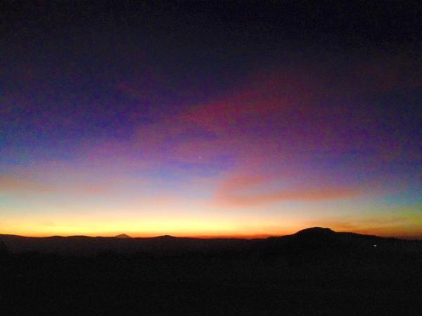 Sunrise Horizon 3 on the edge of the Ngorongoro Crater in Tanzania