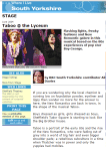 Theatre review of Taboo written for the BBC South Yorkshire website