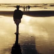 Ali on Vegator Beach in Goa, India