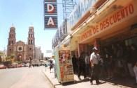 Street Scene in El Paso, Mexico