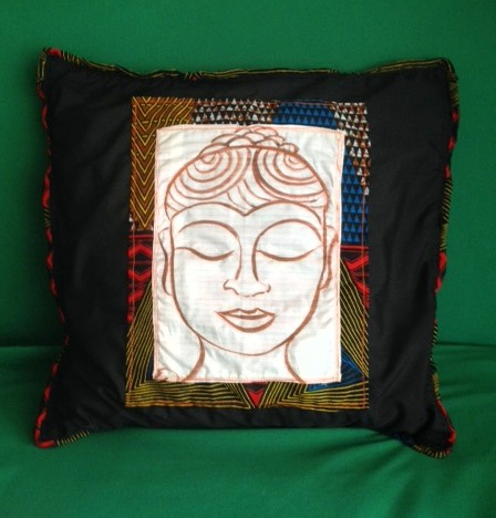 The finished cushion