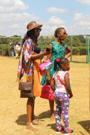 Dressed to impress at Ngong Racecourse in Nairobi