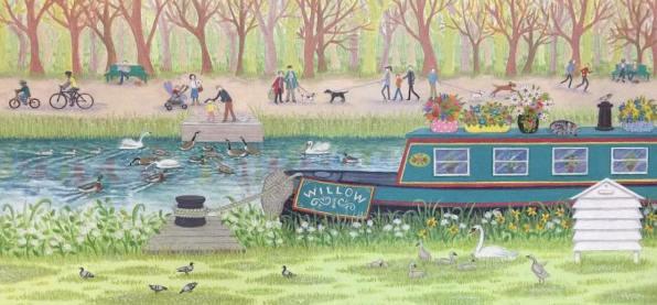Canal Walk by Lisa Davies