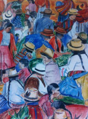 Market Day in Sucre, Bolivia