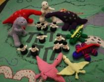 Children's Dinosaur Village and Play mat