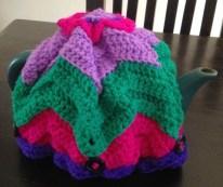 My crocheted tea cosy
