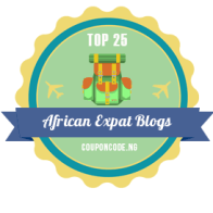 Travels with my Art included in the Top 25 African Expat Blogs by CouponCode
