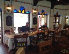 The restaurant at the Serena Beach Resort and Spa in Mombasa, Kenya