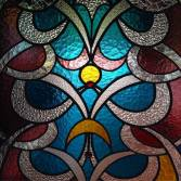 Swahili stained glass at the Serena Beach Resort and Spa in Mombasa, Kenya