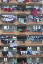 Washing day in Nairobi