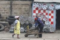 Street scene Nairobi