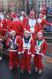 Getting ready for the 2018 Stockholm Santa Run