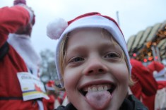 Leon at the 2018 Stockholm Santa Run