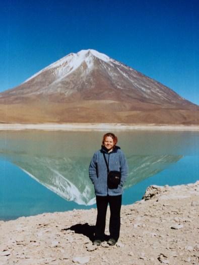 Ali in the Atacama Desert in Bolivia