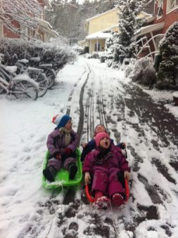 Hurrah for snow! Sweden in winter