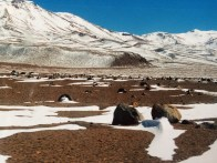 The Atacama desert in Bolivia