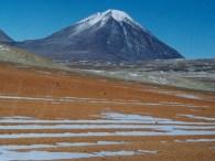 The Atacama desert in Bolivia