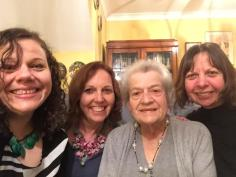 The Davies Women, my sisters Lynne and Karol and my dear mum Vera
