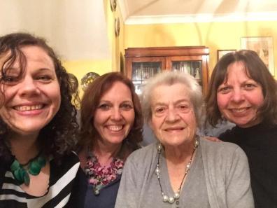 The Davies Women, my sisters Lynne and Karol and my dear mum Vera