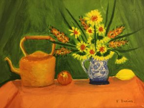 Still life painting by Vera Davies