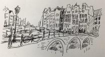 A sketch of Amsterdam