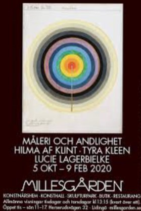 Poster of the Millesgården Hilma af Klint exhibition