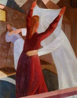 Spencer, Stanley; St Veronica Unmasking Christ; Stanley Spencer Gallery; http://www.artuk.org/artworks/st-veronica-unmasking-christ-27351
