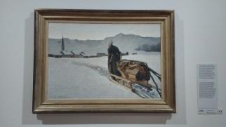 """Giovanni Segantini, """"Ritorno del bosco"""" 1890"""
