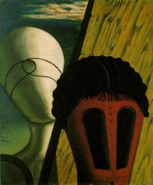 De Chirico - The Two Sisters (The Jewish Angel), 1915