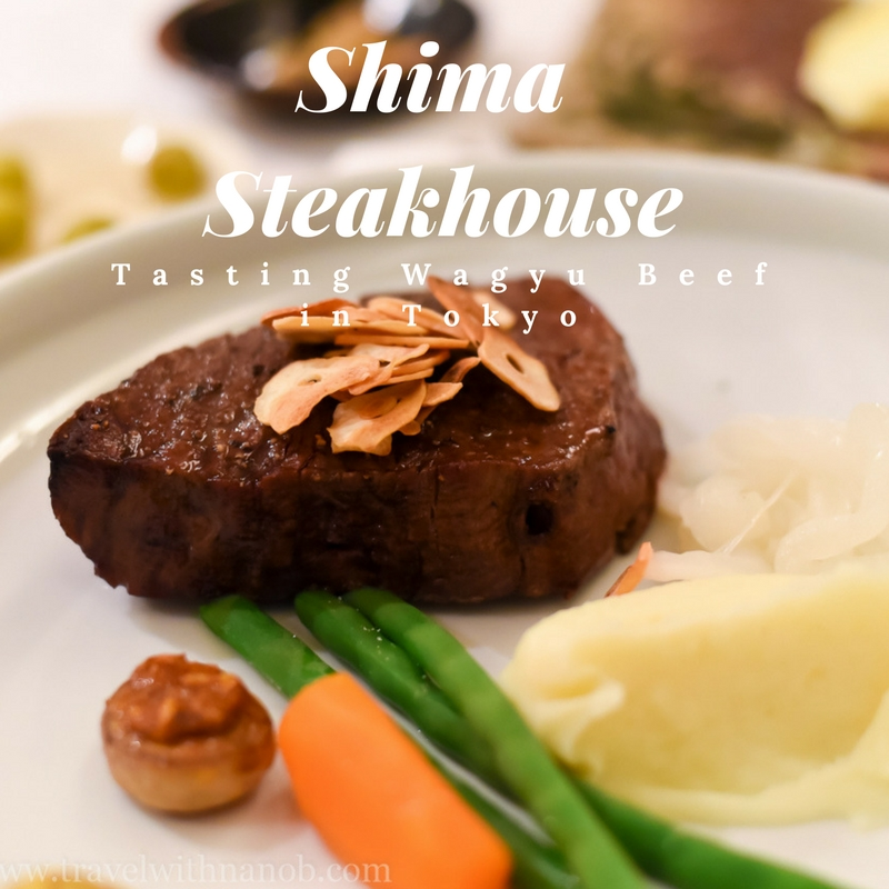 Excellent Wagyu Beef at Shima Steakhouse on www.travelwithnanob.com