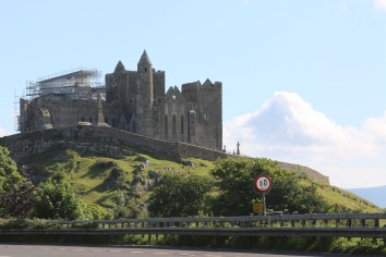 Rock of Cashel from the road into Cashel