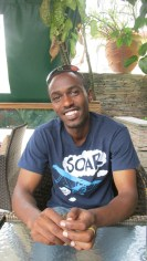 Yves, who is currently finishing up his BA in IT Sciences. He lives in housing provided by Friends of Tubeho.