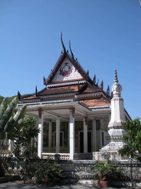 Buddhist shrine at Angkor Wat
