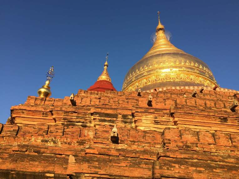 Bagan temples. placers to visit in Myanmar
