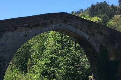 The 2000 year old Roman Bridge at Cangas de Onis