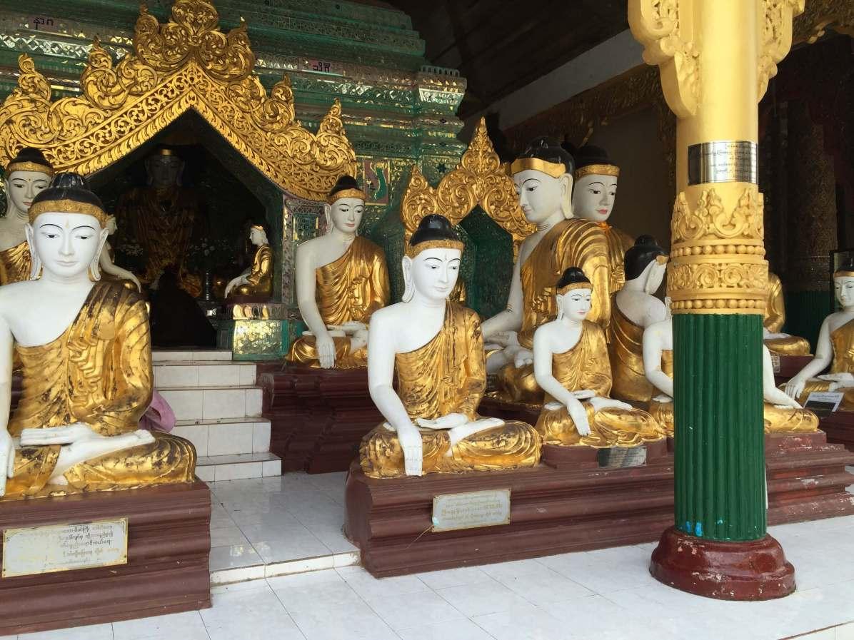 Great places to visit in Myanmar, Swegadon Pagoda, Yangon, Myanmar