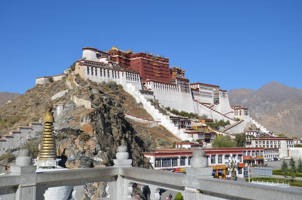 Journey across central China and see Potala Palace in Tibet