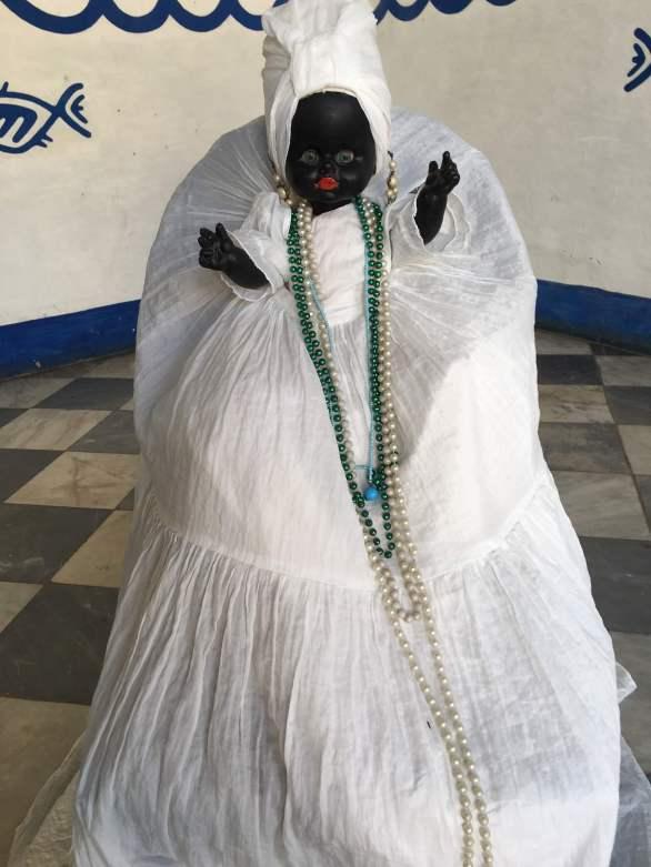 Santeria doll in Trinidad, Cuba