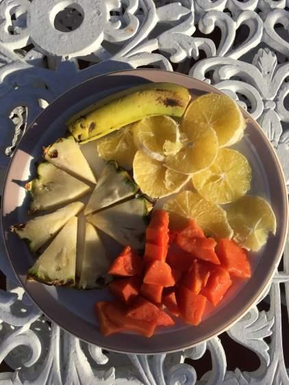 Breakfast in Trinidad, Cuba