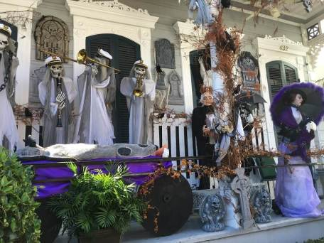 Ghostly band in New Orleans