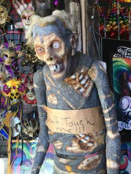 zombie in New Orleans