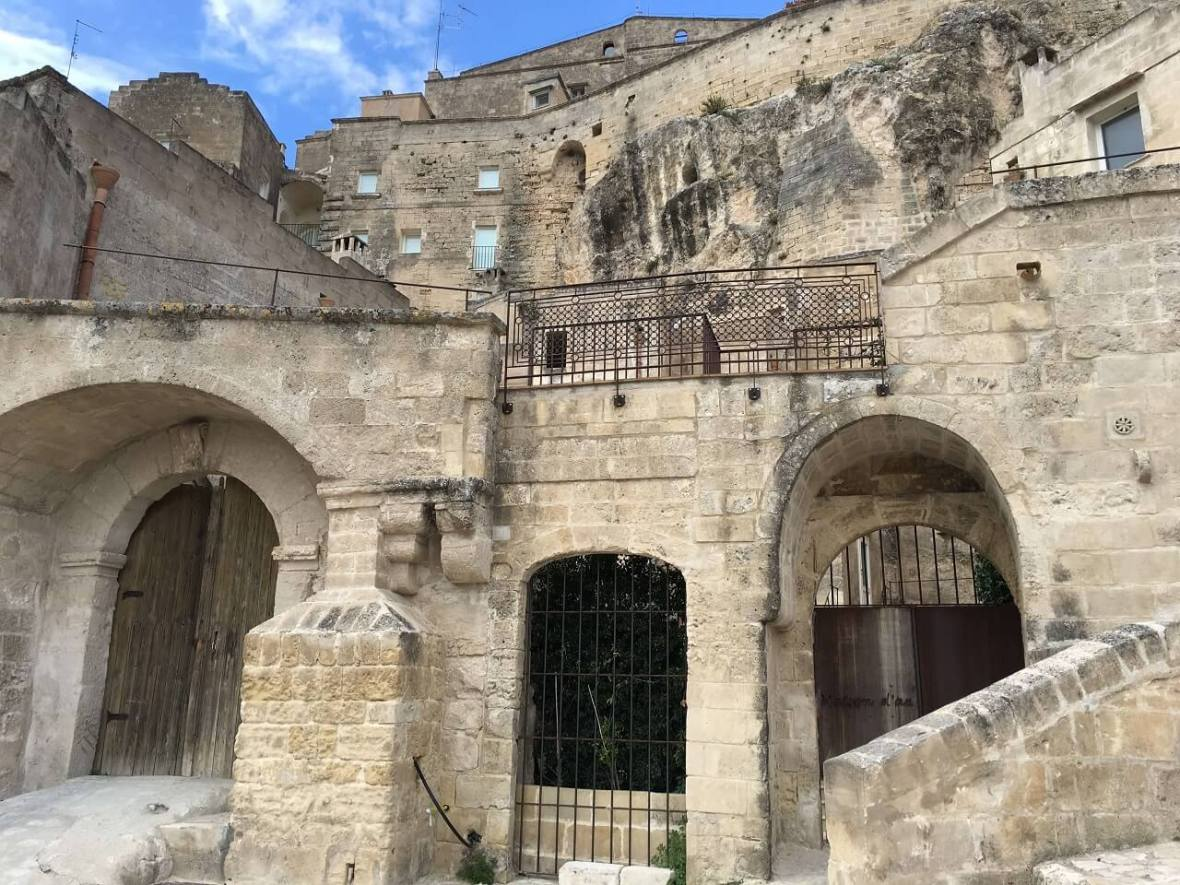 Matera is so unique it is a location for period films.