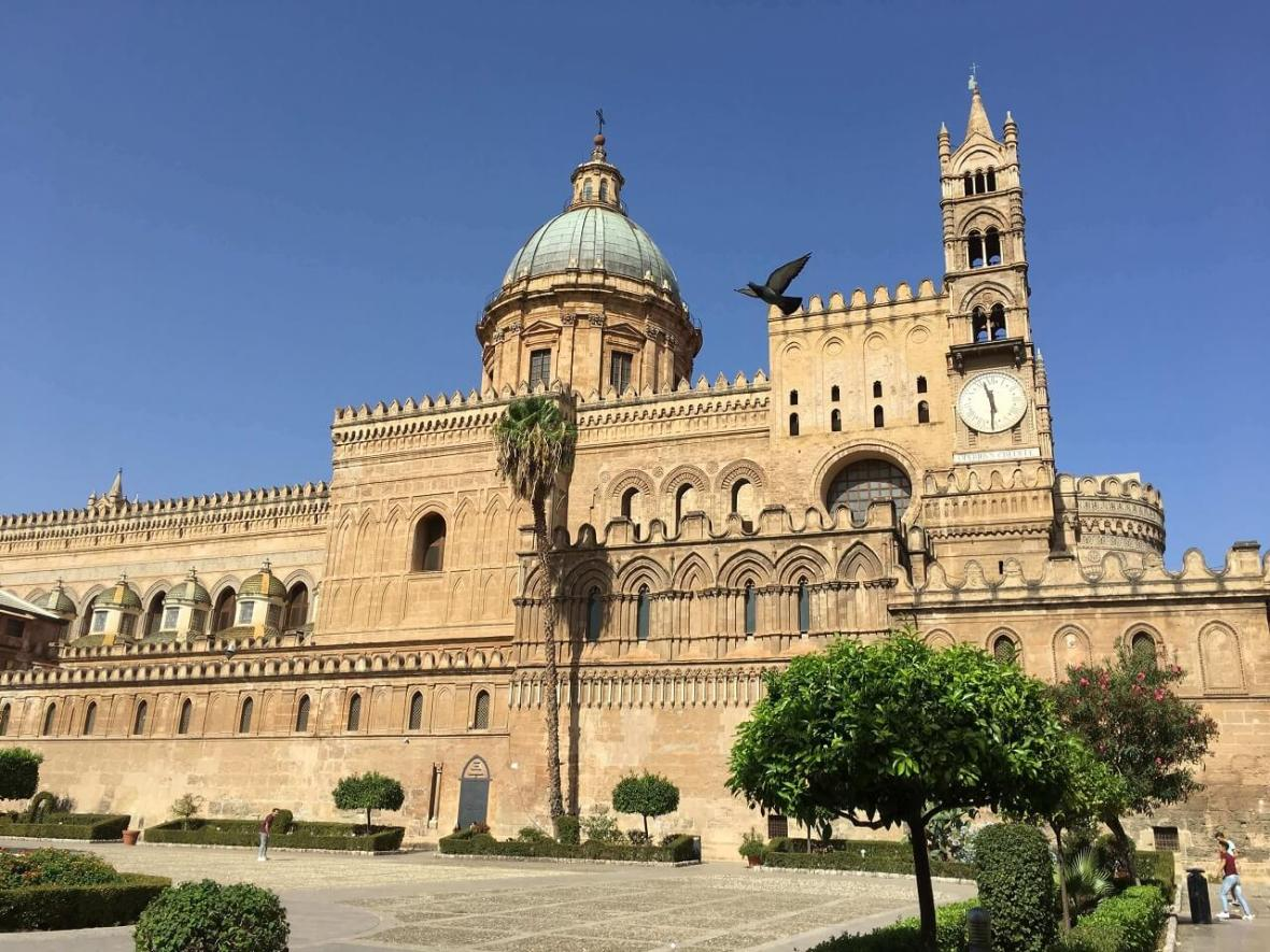 Palermo, Sicily's magnificent cathedral.