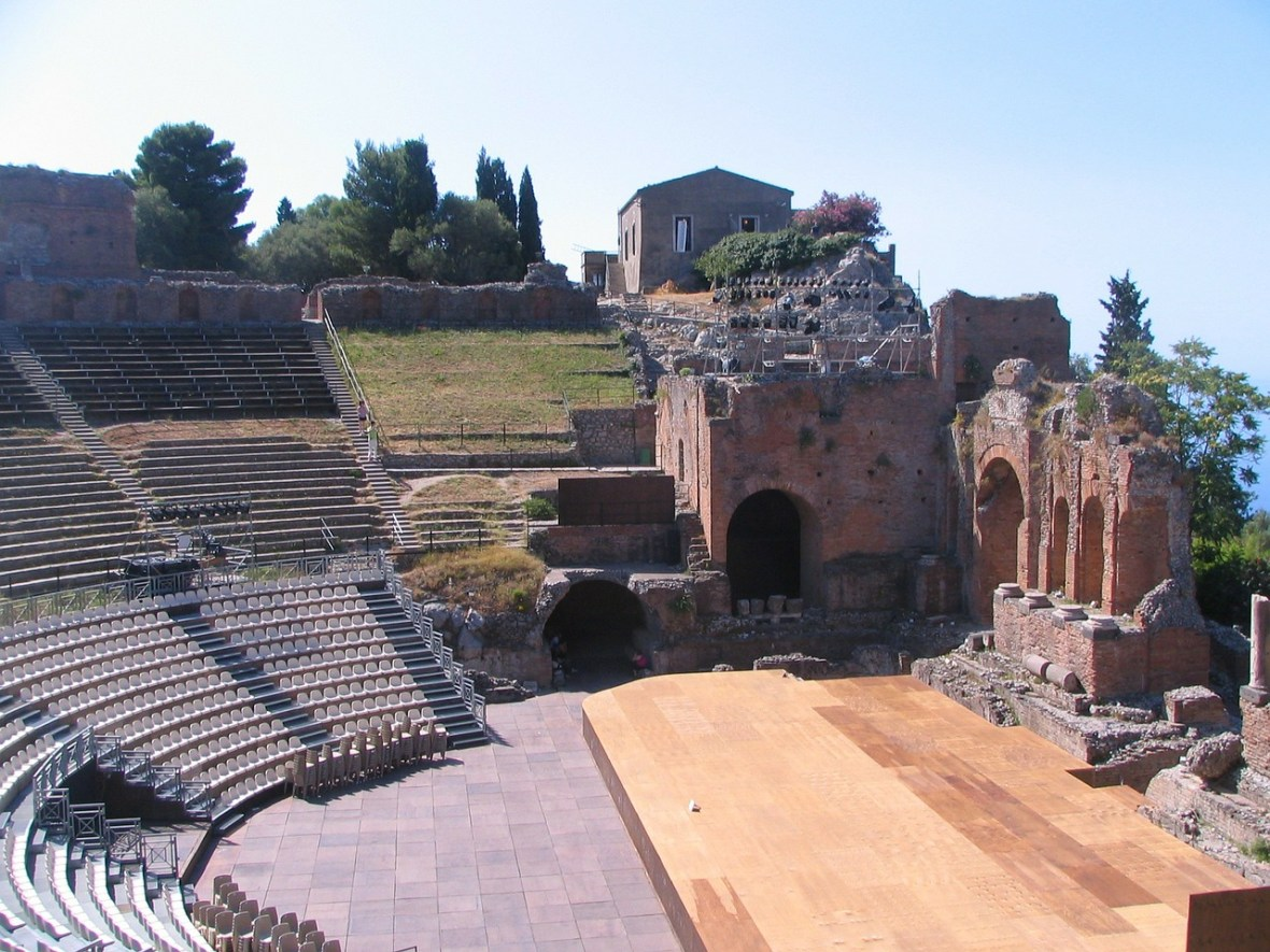 One of the great Taormina attractions