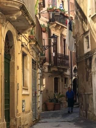 Ortigia, Sicely alleys