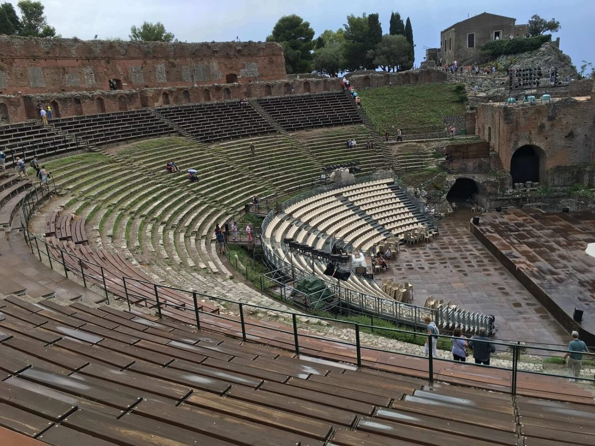 Taormina Greek theater. One of the great Taormina attractions