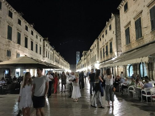 Main street in Dubrovnik