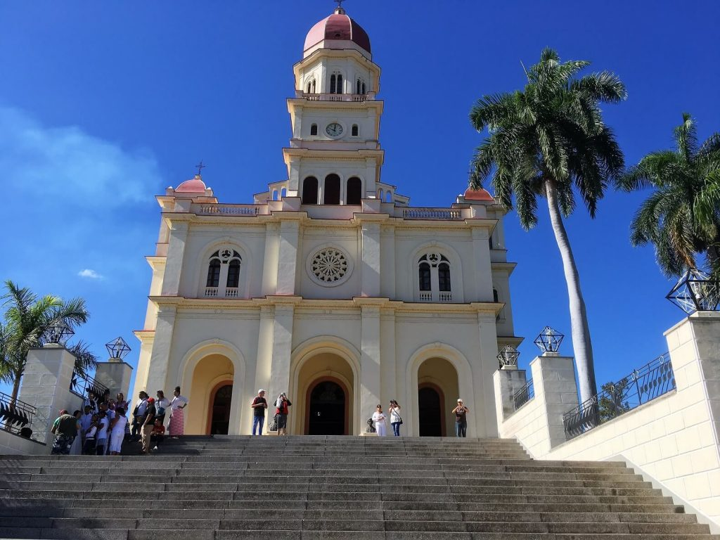 Sanctuary to the Virgen de la Caridad del Cobre. Santiago de Cuba activities.